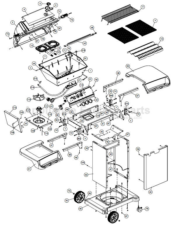 Broil King 9346 77 Parts