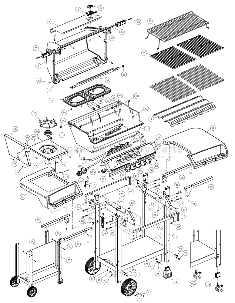 Broil King 944 47 Parts