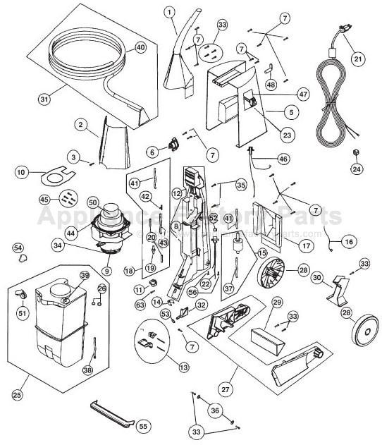 Oreck Xls700 Parts