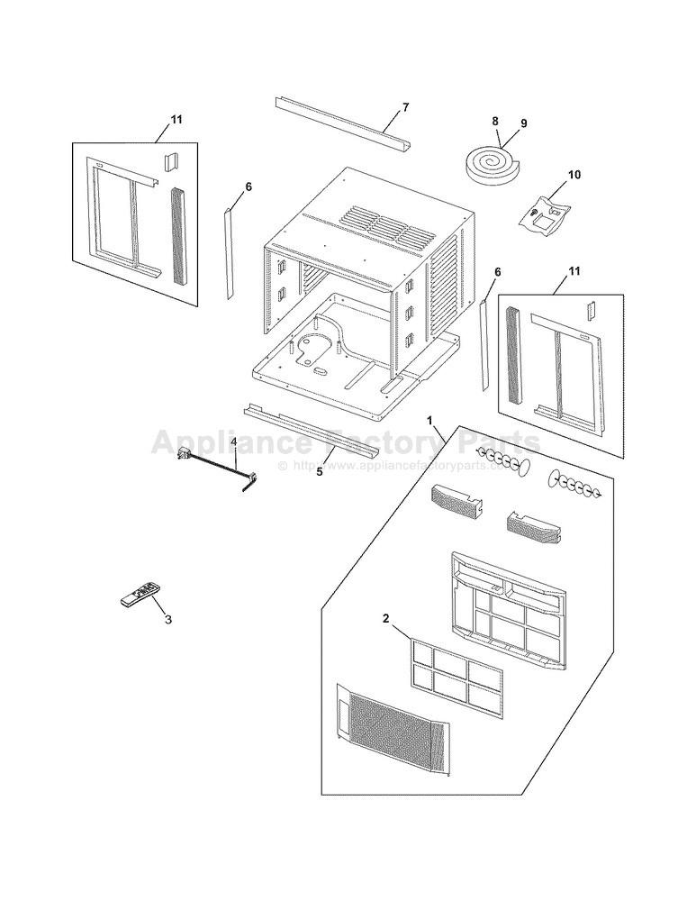Frigidaire Air Conditioner Schaltplang