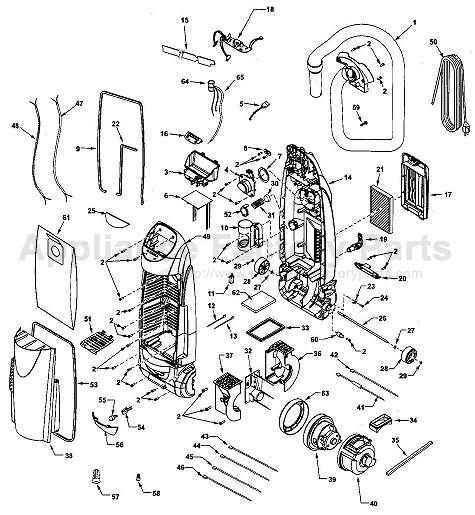 kenmore 116 35922500 parts vacuum cleaners kenmore vacuum model 116 manual  kirby vacuum wiring diagram