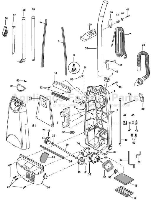 Panasonic Mc Ug583 Parts Vacuum Cleaners