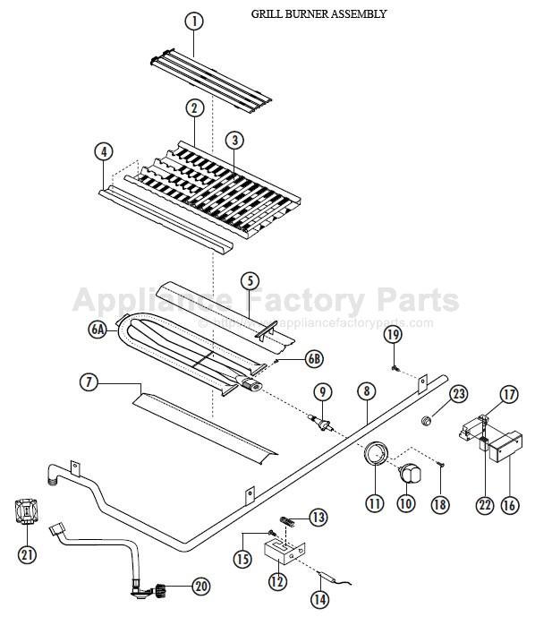 Dcs Bg48 Bqrl Parts