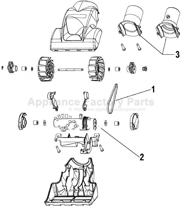 Hoover U6434 900 Parts