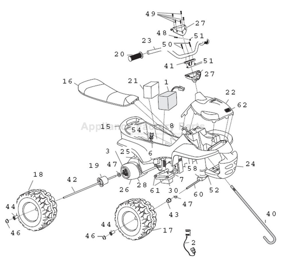 860756 Peg Perego John Deere Gator Xuv User Manual Fius1101g157 likewise 857771 Peg Perego Steering Column Spst8401n also 858693 Npl2 Steering Shaft Silverado Fusil0875 1111 furthermore G4626 together with 76229. on peg perego power s parts