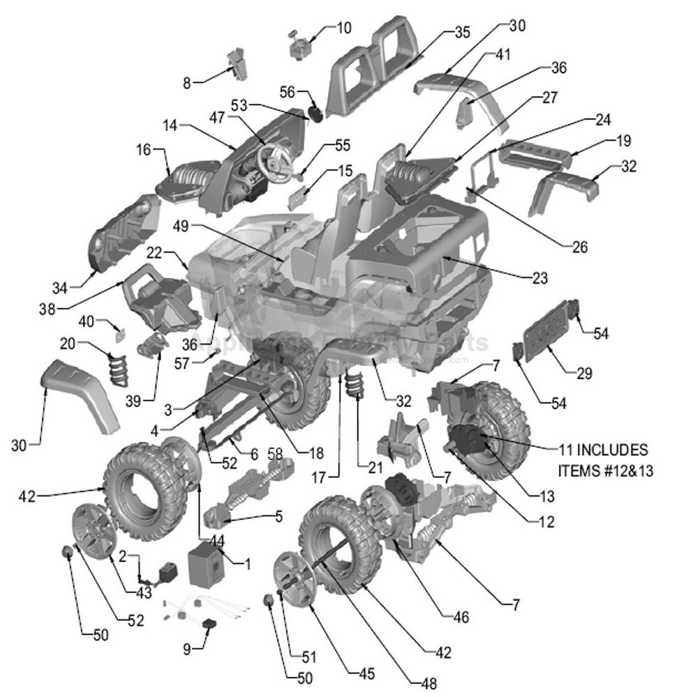 856164 John Deere Power Pull Igor0006 Parts moreover 856142 Ducati Monster Motorcycle Igmc0007us Parts further Fiat 500 Steering Column Diagram furthermore 23114 Electric Pto Problem also 856336 Polaris Ranger Rzr 900 Red Igod0066 Parts. on peg perego power s