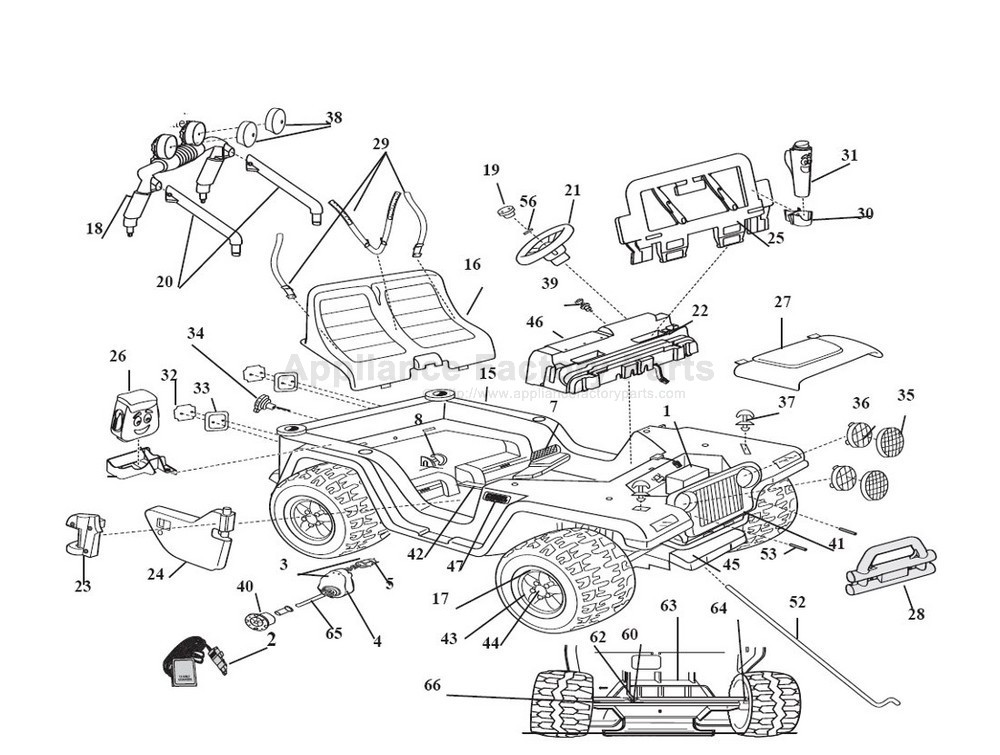 k4563 wiring diagram for power wheels