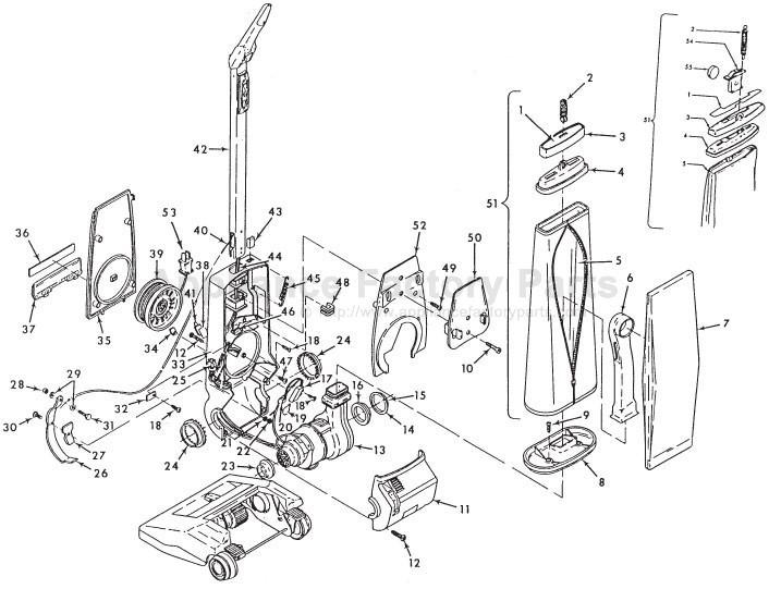 Hoover Vacuum Wiring Diagram
