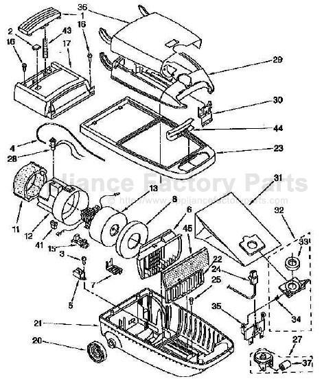 Kenmore 116 2561290 Parts
