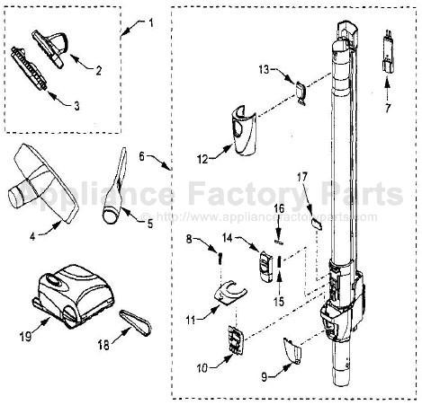 kenmore model 116 canister vacuum manual