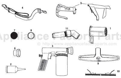 kirby model g7d parts manual