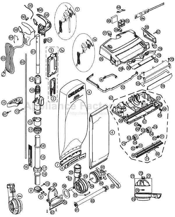 diagram of oreck oreck xl21 600ecb parts vacuum cleaners diagram of orca oreck xl21 600ecb parts vacuum cleaners