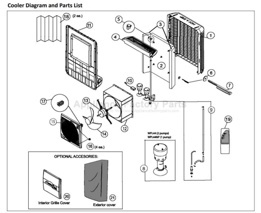 Part CHM72253 - Appliance Factory Parts