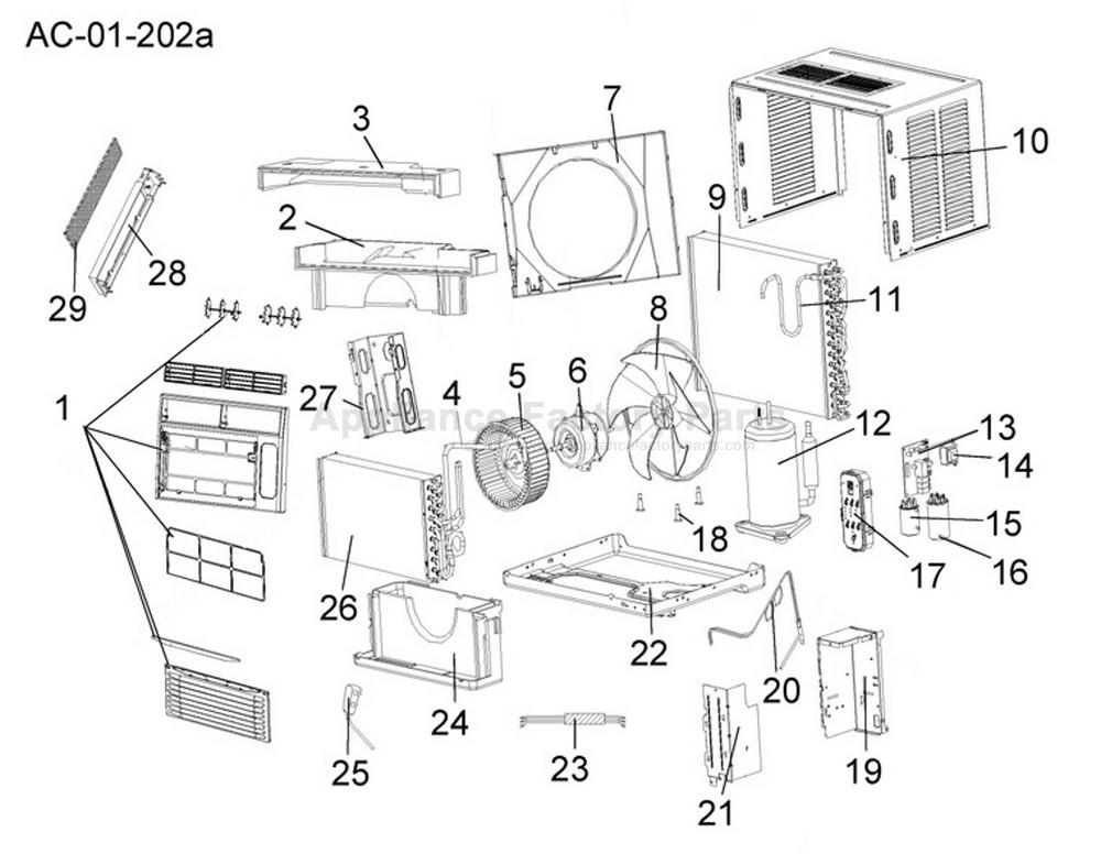 208827-1 Haier Ac Wiring Diagram on