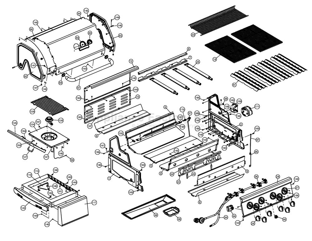 Sterling 5861 66 Parts