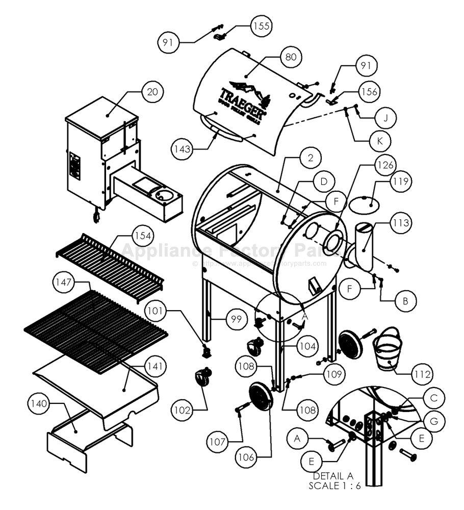 Traeger Part Texa Schematic