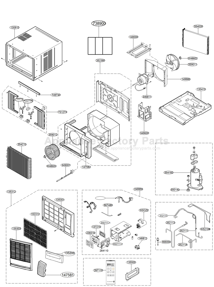 Part 6323A20003S - Appliance Factory Parts on