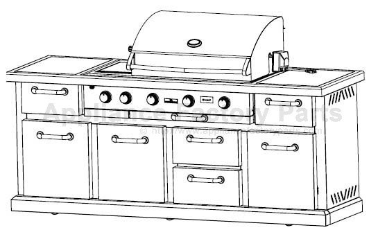 members mark bq05046-6 parts | bbqs and gas grills