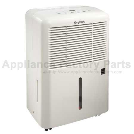 simplicity 43 5407 2 parts dehumidifiers rh appliancefactoryparts com Parts Manual Generac 5000 Watt Generator Manual