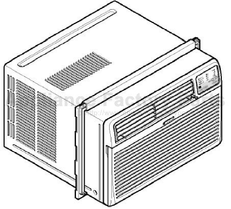 Kenmore 580 74122400 Parts Air Conditioners
