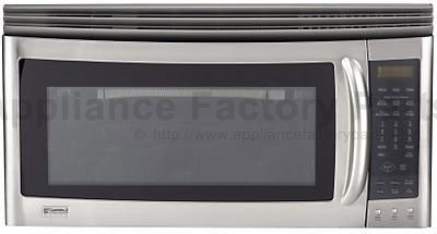 Model Description Kenmore Elite Microwave