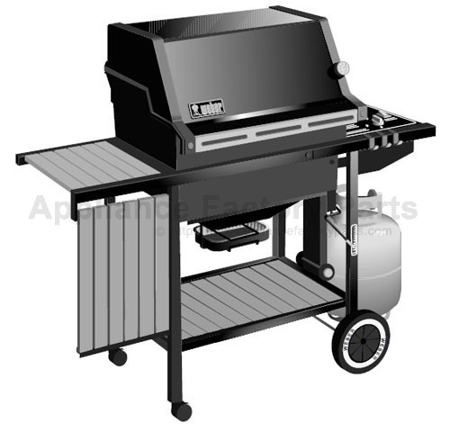 Weber Gas Grill Parts >> Weber Weber 1100 Lp Parts Bbqs And Gas Grills