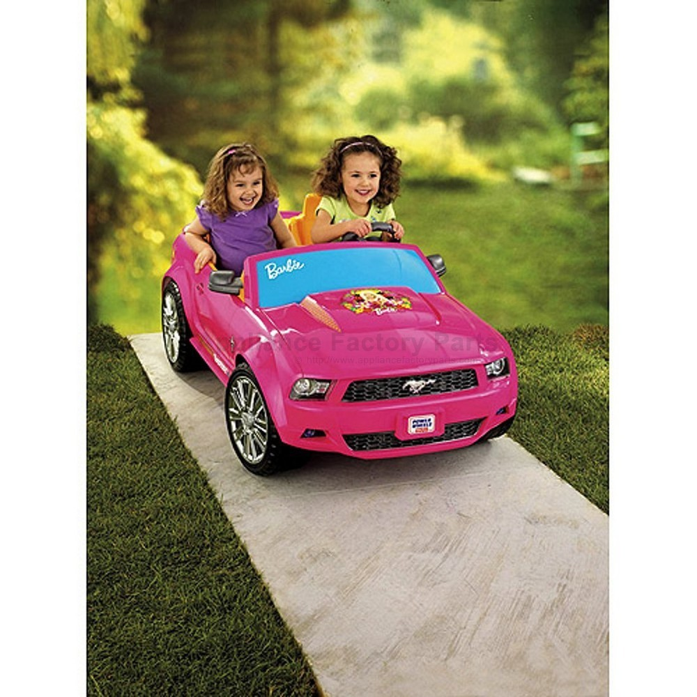barbie mustang power wheels manual