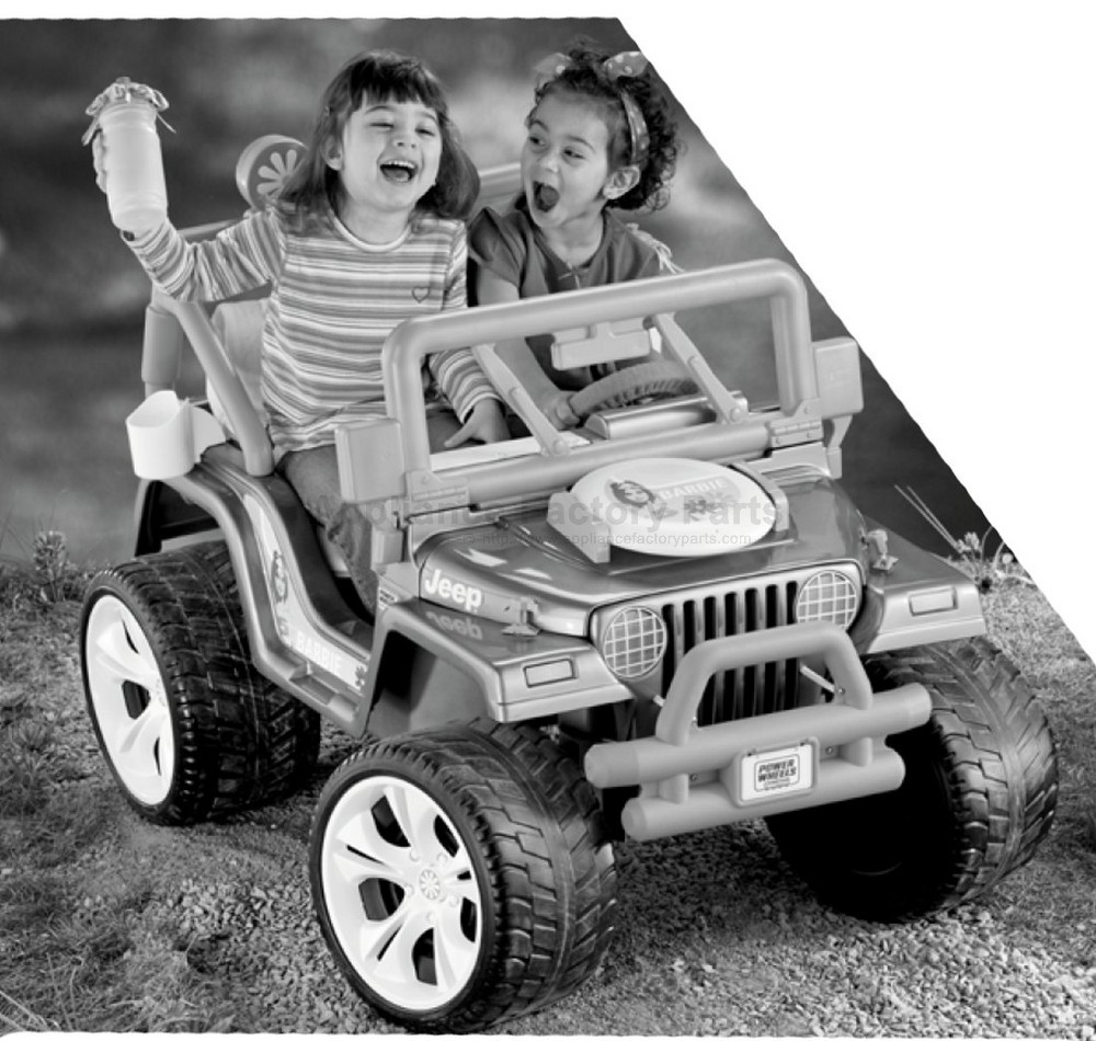 power wheels barbie jeep manual