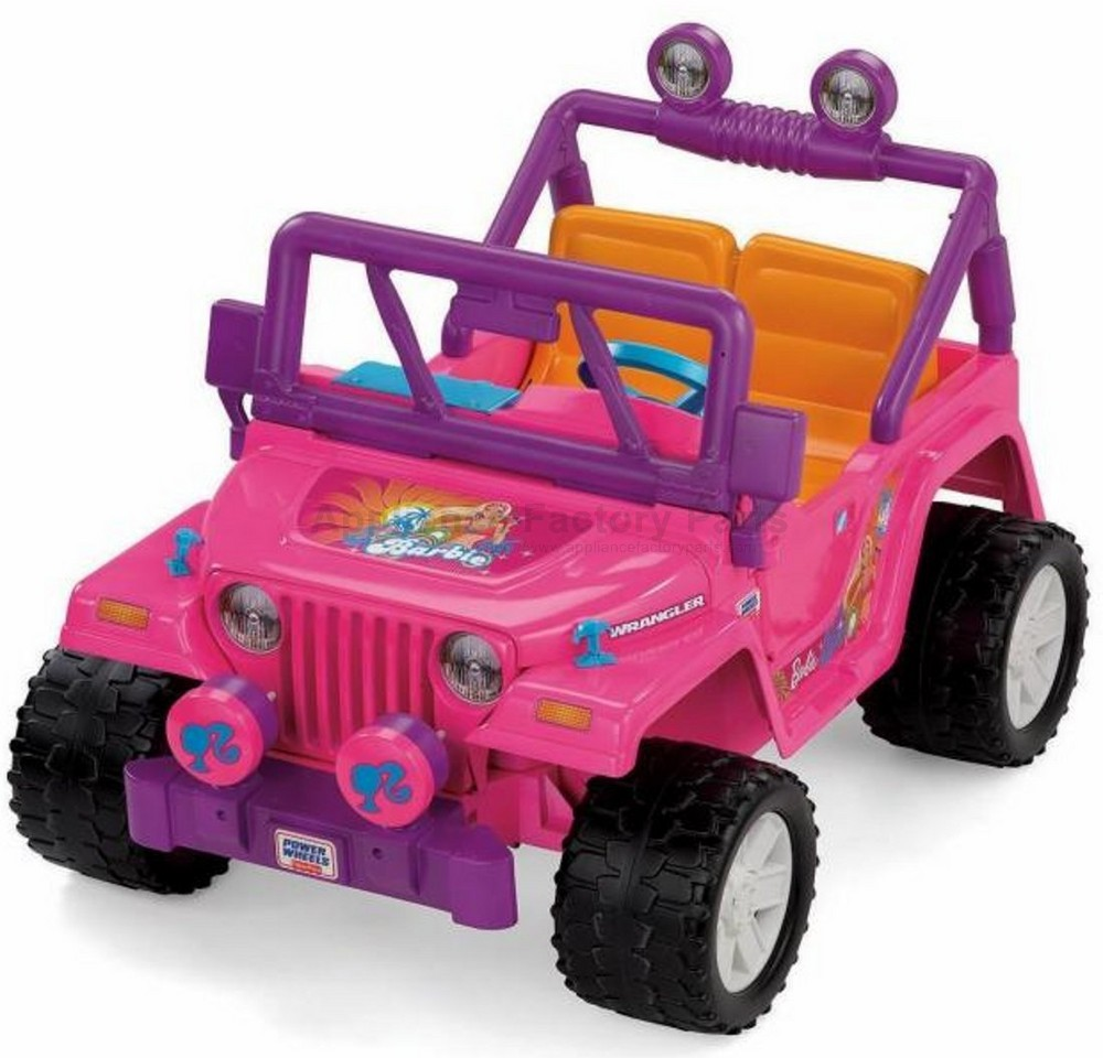 Barbie Jammin Jeep. [Click Images to Enlarge]