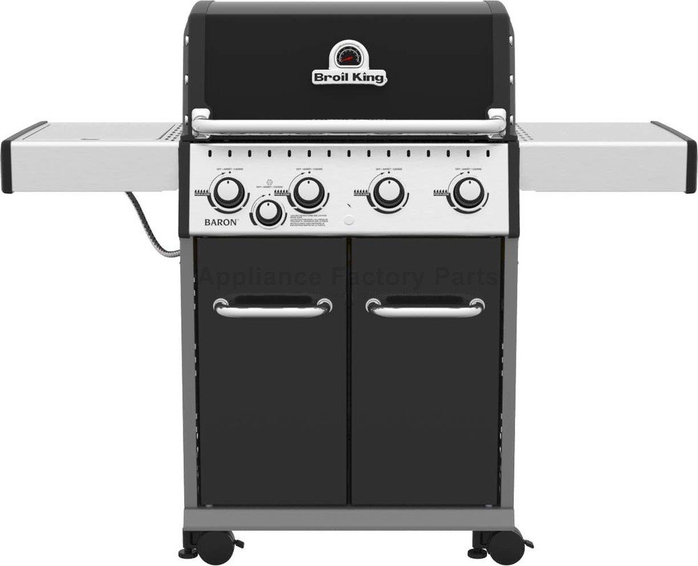 Broil King Regal S520 5 Burner Built In Natural Gas Grill Stainless Steel 886717 Bbqguys