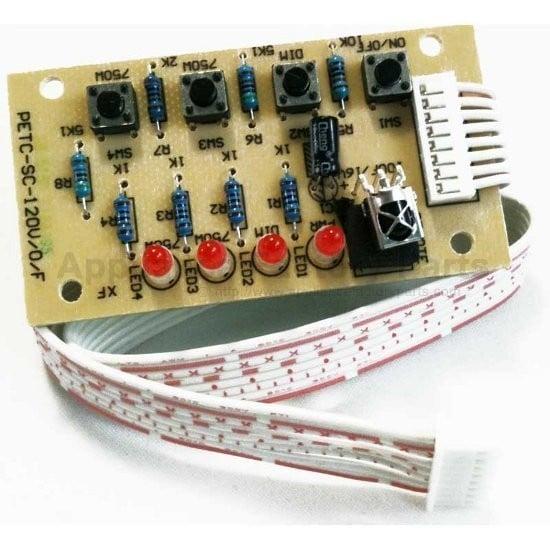 Heat Surge 30000587 Circuit Board Touch Key Pad W//Cover No Ir Sensor